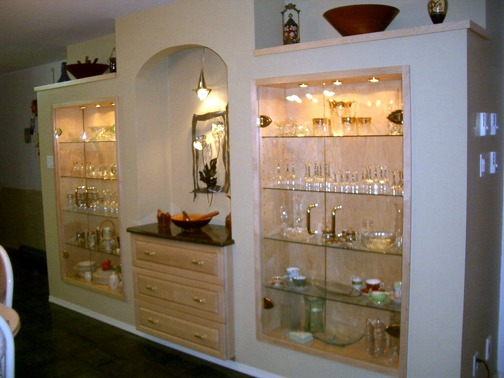 Wall Units For Dining Room Custom Wall Units Contemporary Dining ...